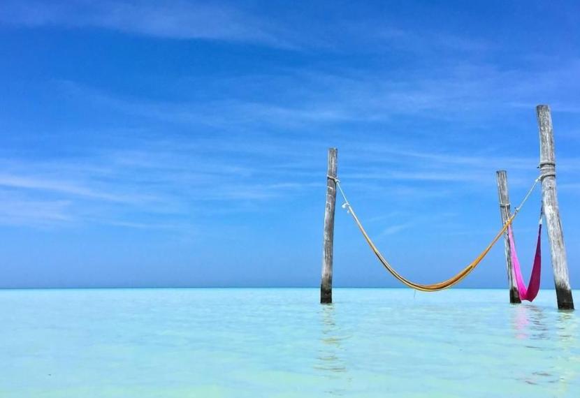 Holbox, meksykański raj kitesurfera.