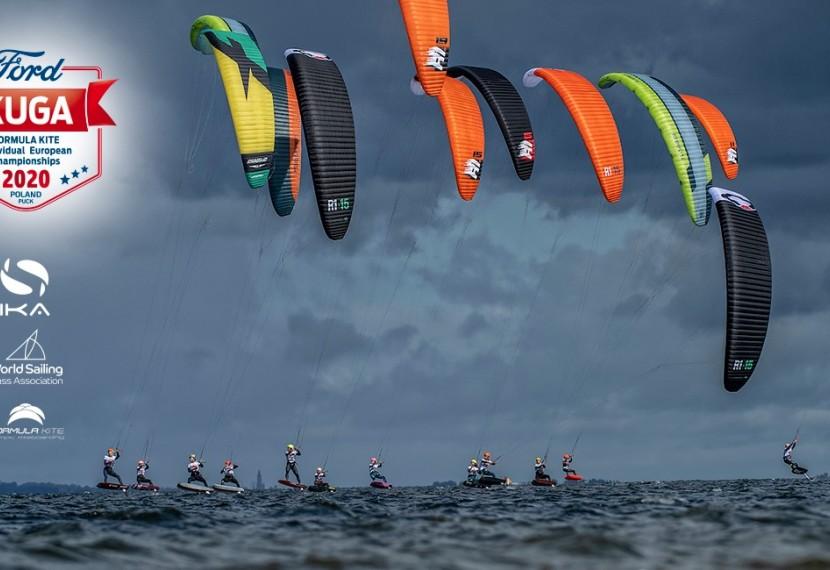 Mistrzostwa Europy w kitesurfingu, w konkurencji Formuła Kite/ PUCK 18-23.08.2020