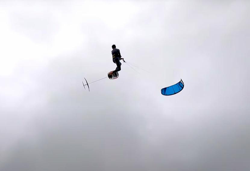 BIG AIR na foilu przy słabym wietrze, czy to możliwe?