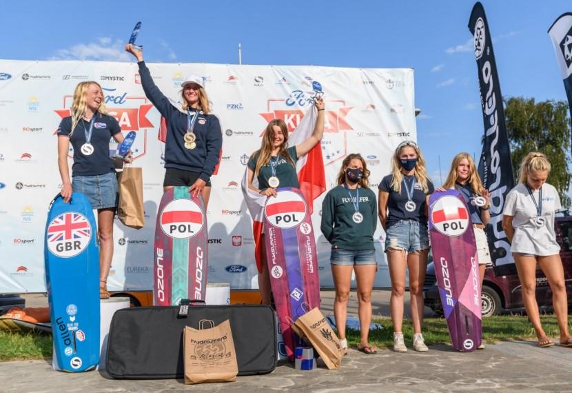 Mistrzostwa Europy w kitesurfingu zakończone sukcesem Polek!