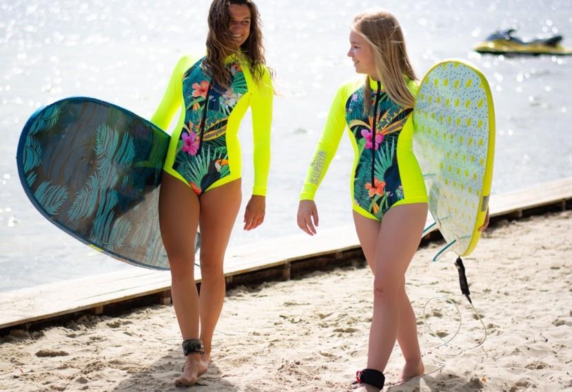 Odzież markiSUPAYAjedną z najwygodniejszych na rynku sportów wodnych.