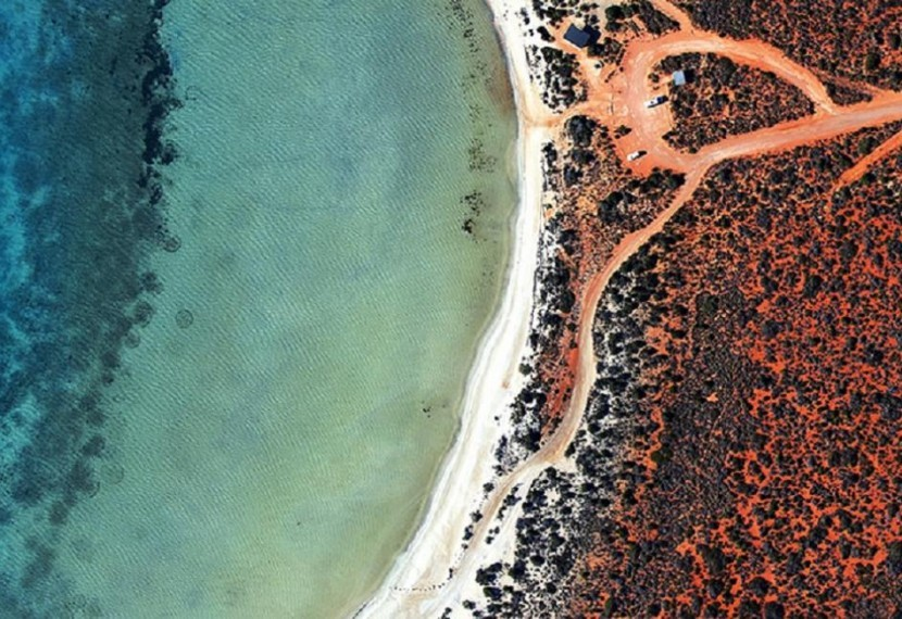 Mała Laguna w Shark bay! Widoki zapierające dech w piersi !